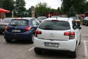 003 zwiedzamy Litwę Citroenem C3 i Peugeotem 208