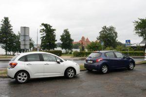 046 zwiedzamy Litwę Citroenem C3 i Peugeotem 208