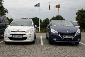 051 zwiedzamy Litwę Citroenem C3 i Peugeotem 208