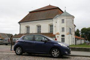 077 zwiedzamy Litwę Citroenem C3 i Peugeotem 208