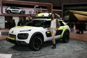 21. Genewa 2014 - Citroen C4 Cactus Aventure Concept