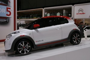52. Genewa 2014 - Nowy Citroen C1 Swiss and Me Concept