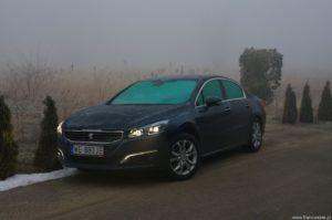 11. Peugeot 508 sedan w teście Francuskie.pl