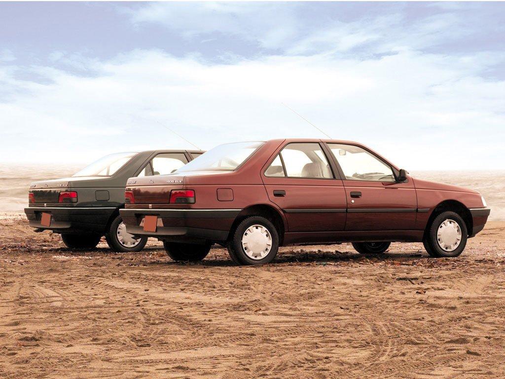 Iran Khodro_Peugeot 405