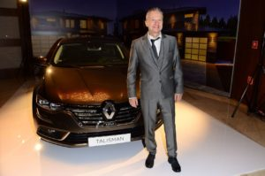 03. Polska premiera Renault Talisman, Talisman Grandtour i Megane - Bogusław Linda, ambasador Renault przy Talismanie