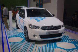 040. Salon Samochodowy w Pekinie'2016 - Citroen e-Elysee