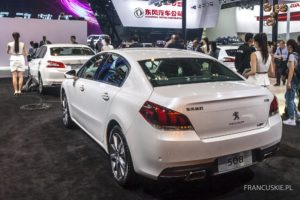 207. Salon Samochodowy w Pekinie'2016 - Peugeot 508