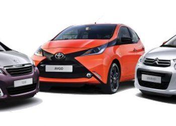 Toyota Aygo, Citroen C1 i Peugeot 108 – koniec wspólnej produkcji w Kolinie