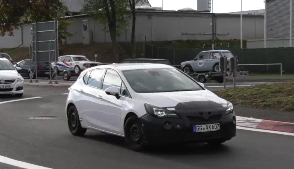 Nowy Opel Astra 2020 Facelift Przylapany W Czasie Prob