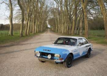 Peugeot 204 Coupe i 504 Coupe w rajdzie Tour Auto