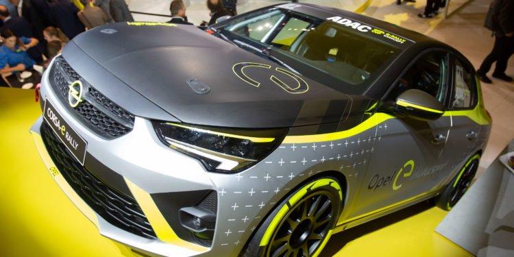 Nowy Opel Corsa-e Rally