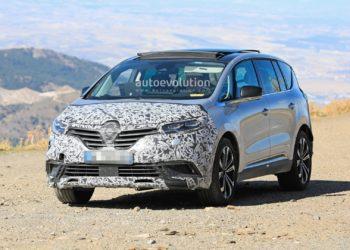 Renault Espace po face liftingu