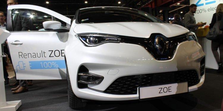 Renault Zoe II generacji (Fleet Market 2019)