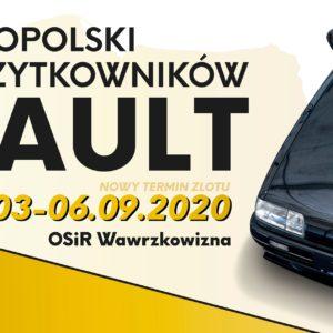 19 Ogólnopolski Zlot Renault 2020 – nowy termin wrzesień